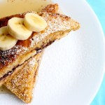 Cornflake-Crusted Banana and Nutella Stuffed Challah French Toast