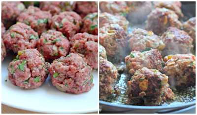 Slow Cooker Moroccan Meatballs 6