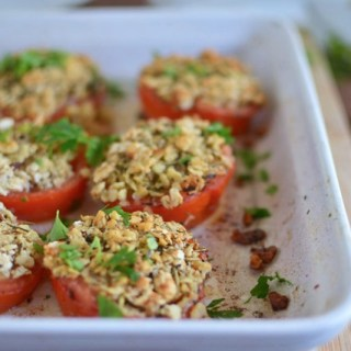 Guest Post: Matzo and Herbed Stuffed Tomatoes