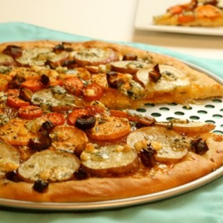 Tzimmes Flatbread Pizza