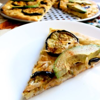 Vegan Israeli Pizza