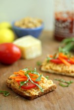 Chickpea Tartines and The Smart Shopper Diabetes Cookbook Review