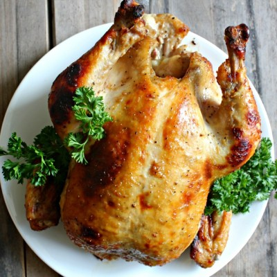 honey horseradish roasted chicken for passover