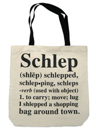 schlep tote bag