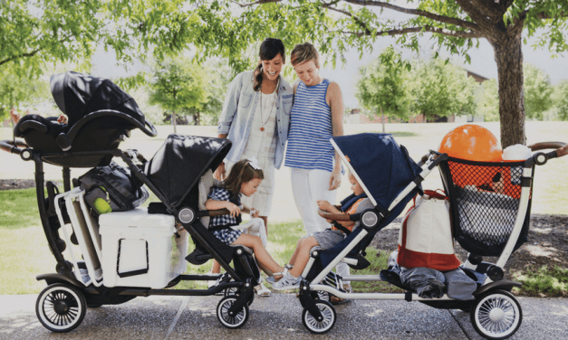 Meet the Austlen Entourage. The Convertible Stroller That Carries Everything (So You Don't HaveTo).