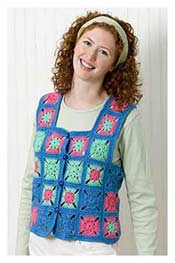Granny Square Vest