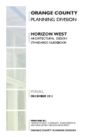 Horizon West Architectural Design Standards Guidebook
