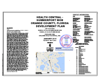 Health Central Summerport Site Plans