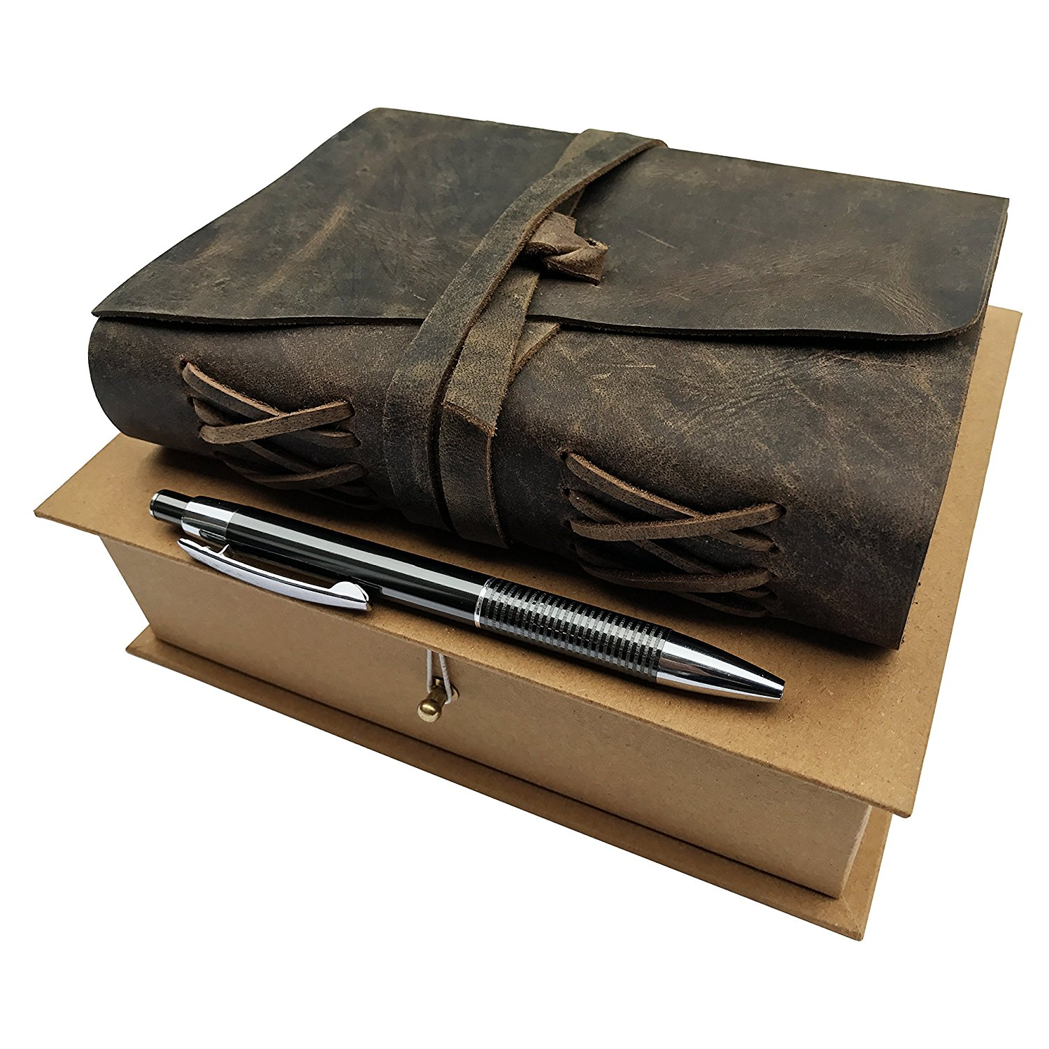 Leather Journal Gift Set by Moonster Image