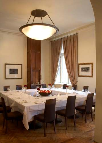 Private dining room in The Cinnamon Club