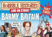 Horrible Histories at the Garrick Theatre