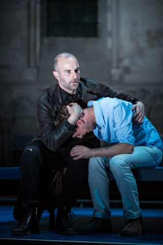 Russell Anthony as Friar Laurence, Dylan Kennedy as Romeo