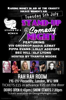 STAND UP 4 WOMEN – WEST END EDITION