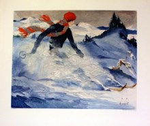 Let It Snow: Skiing and Winter Sports Poster Exhibition