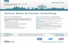 Smart Beta And Factor Investing