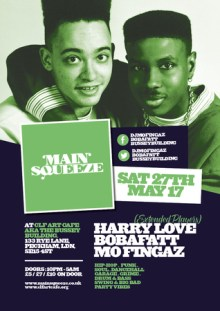 Main Squeeze – with Harry Love