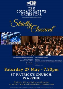 """Strictly Classical"" presented by the Collaborative Orchestra (Britain's Got Talent semi-finalists 2016)"
