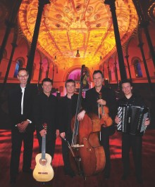 Exclusive date with the London Tango Quintet