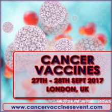 SMi's 6th annual Cancer Vaccines Conference and Exhibition