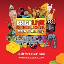 BRICKLIVE London –  The UK's Biggest LEGO® Fan Convention