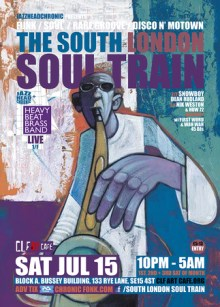The South London Soul Train w/ Heavy Beat Brass Band Live + More on 4 Floors
