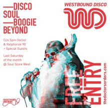 Westbound Disco – Launch Party – Soul Store West, London – Sat 29th July