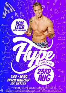 HYPE: Under 18s   Featuring Dom Lever from Love Island