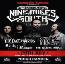 Camden Rocks presents Nine Miles South and more at Proud Camden