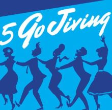 Swing Jump and Jive Sunday Lunch with Five Go Jiving at Hideaway South London