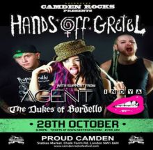 Camden Rocks presents Hands Off Gretel and more at Proud Camden