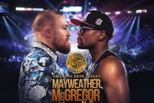Watch Mayweather Vs McGregor live at Waxy's!