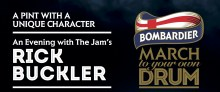 """Bombardier Beer's """"A Pint With A Unique Character"""""""