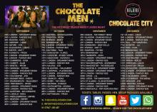 Chocolate City UK presents The Chocolate Men at Spearmint Rhino London