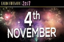 Ealing Fireworks Display (Fifth Birthday Event) November 4th 2017