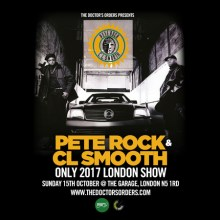 Pete Rock and CL Smooth – *Only London show of 2017* @ The Garage – 15th Oct