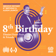 Groove Odyssey 8th Birthday