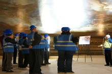 Audio-Described Painted Hall Ceiling Tour