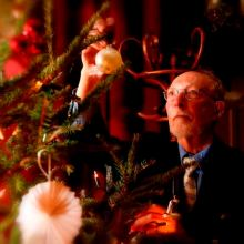 Night Before Christmas Exhibition, Forty Hall, Enfield, London, Late opening