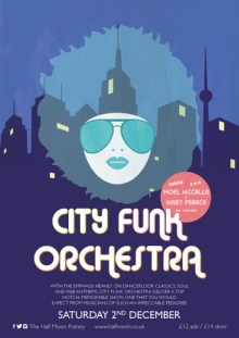 City Funk Orchestra @ The Half Moon Putney