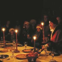 The Night Before Christmas Childrens Trail,Forty Hall,Enfield,London,kids