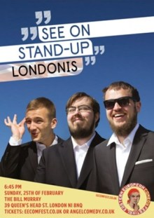 See on Stand Up – Londonis