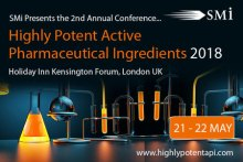 Highly Potent Active Pharmaceutical Ingredients (HPAPI)