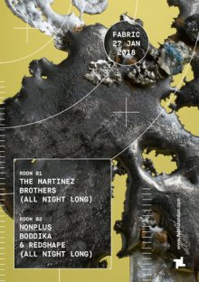 fabric: The Martinez Brothers (All Night Long) & Nonplus (All Night Long)