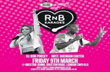 RnB Karaoke *Now On Fridays* – Brixton Jamm, London – Just £5 Advance