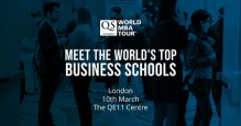 London's Biggest MBA Event – QS World MBA Tour