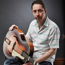 Top swing and RnB with guitarist Chris Corcoran and band at Hideaway Jazz