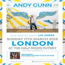Andy Gunn – Live at The Half Moon Putney