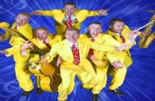 The Jive Aces bring their high energy jump jive outfit back to Hideaway