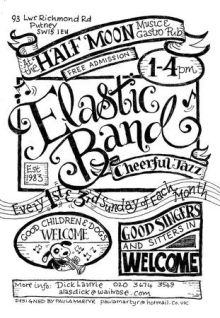 Dick Laurie & The Elastic Band – Live at The Half Moon Putney