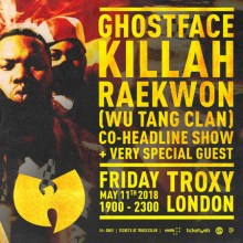 Ghostface Killah and Raekwon (Wu-Tang Clan) Live in London